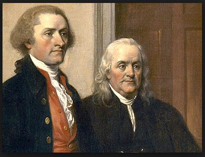 Thomas Jefferson and John Adams