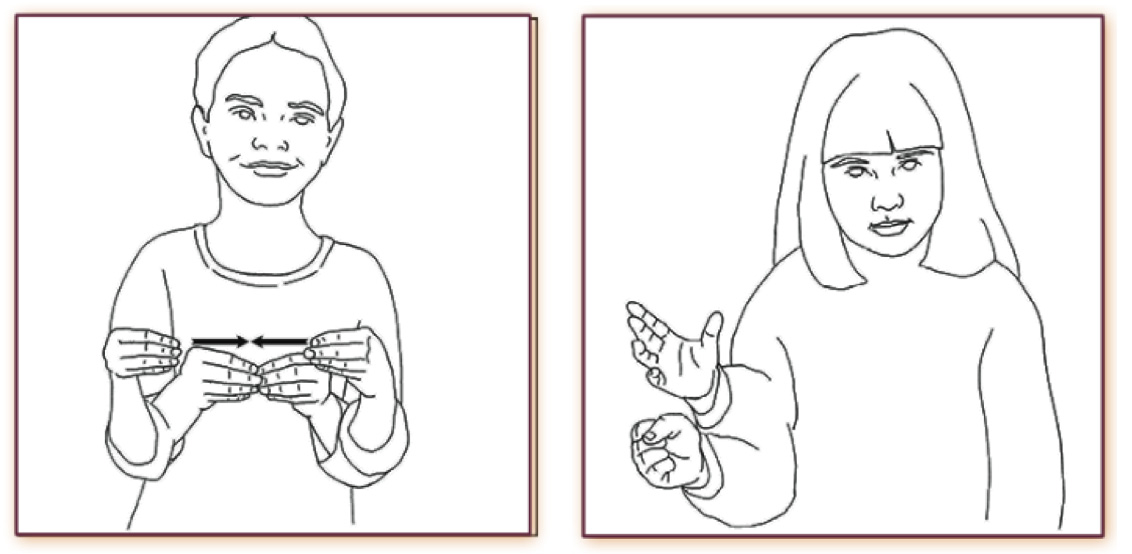 Illustrations of Sign Language
