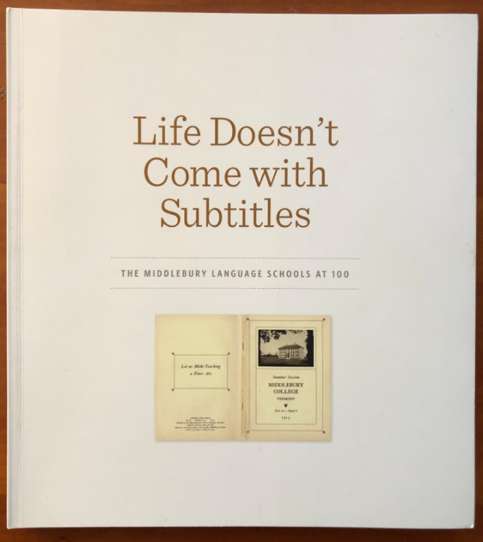 Life Doesn't Come With Subtitles Book Cover
