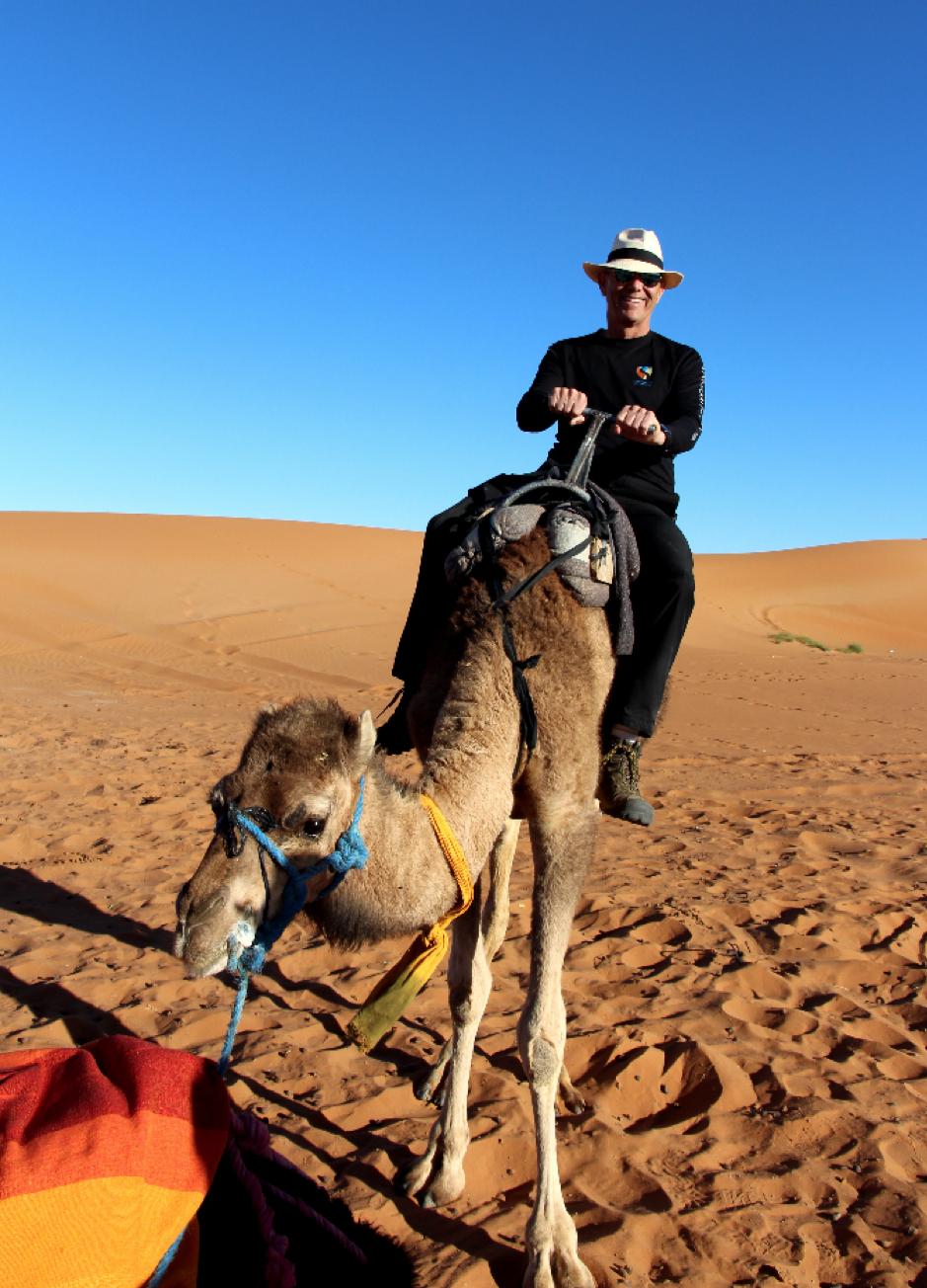 Steve in Morocco